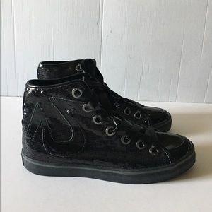 True Religion Hi Top Sequin Sneaker